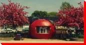 The Big Apple Tourist Information Booth - Meaford, Ontario