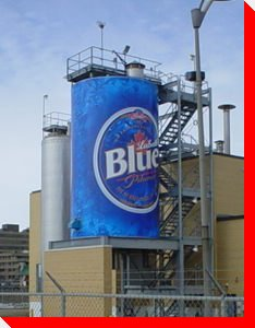Labatt Blue Beer Can - Edmonton, Alberta