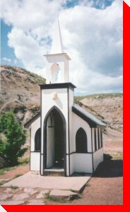 Little Church - Drumheller, Alberta
