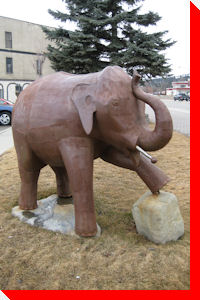 Ed the Elephant - Cranbrook, British Columbia