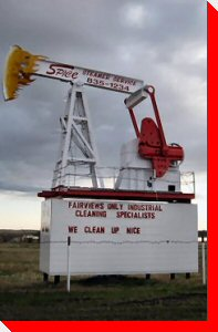 Oil Pumbjack - Fairview, Alberta