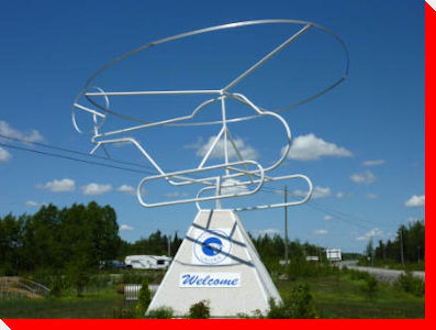 Wire Helicopter - Gander, Newfoundland and Labrador