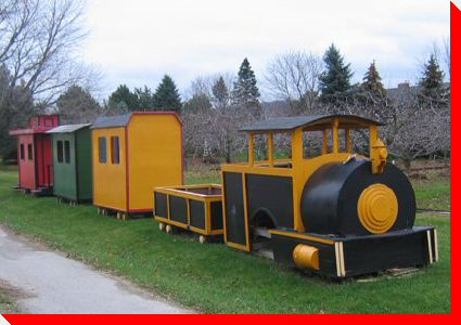 Wooden Train - Grimsby, Ontario