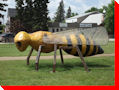 World's Largest Honeybee - Tisdale, Saskatchewan