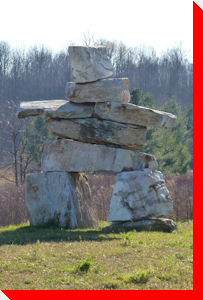 Inukshuk - Kingston, Ontario
