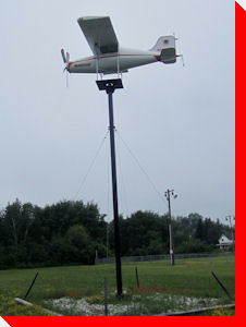 Airplane Weathervane - McKerrow, Ontario