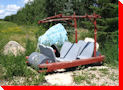Flintstone Car - Middle Lake, Saskatchewan