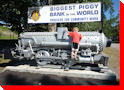 Biggest Piggy Bank in the World - Coleman, Alberta