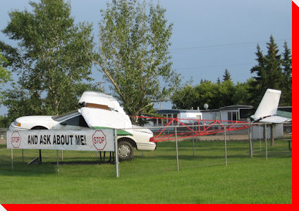 Wing Car - Provost, Alberta