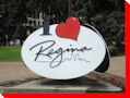 I Love Regina Lapel Pin - Regina, Saskatchewan
