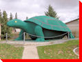 Ernie - Canada's Largest Turtle - Turtleford, Saskatchewan