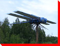 World's Largest Dragonfly - Wabamun, Alberta